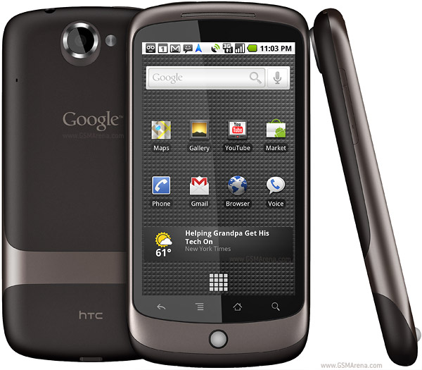 google-nexus-one-new-2 HTC Google Nexus One tem hardware mais potente do mercado