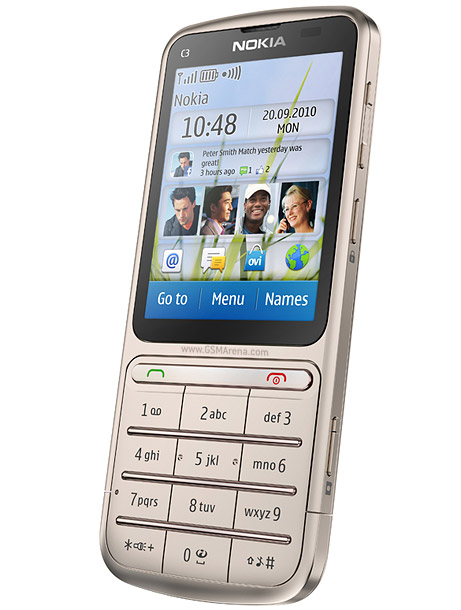 Nokia C3 Touch and Type 1