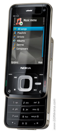 Production shot of a Nokia N81