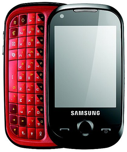 Samsung B5310 CorbyPRO latest smart phone has full QWERTY keypad